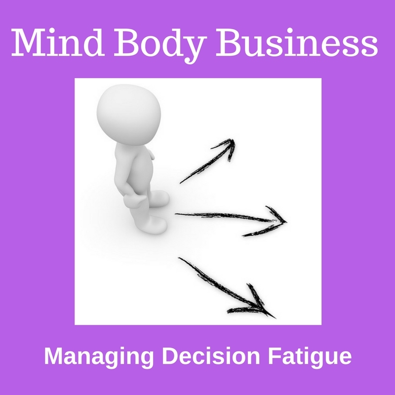 Managing Decision Fatigue