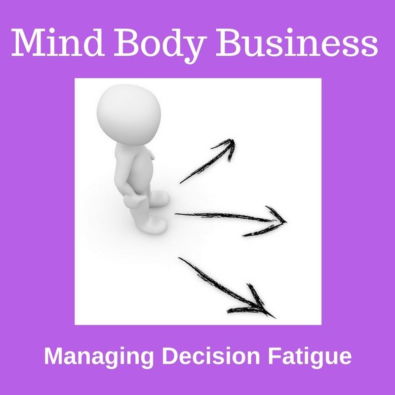 Managing Decision Fatigue