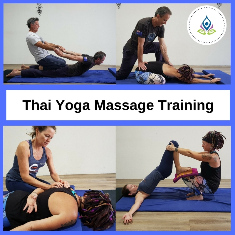 Thai Yoga Massage Training Yoga Trinity