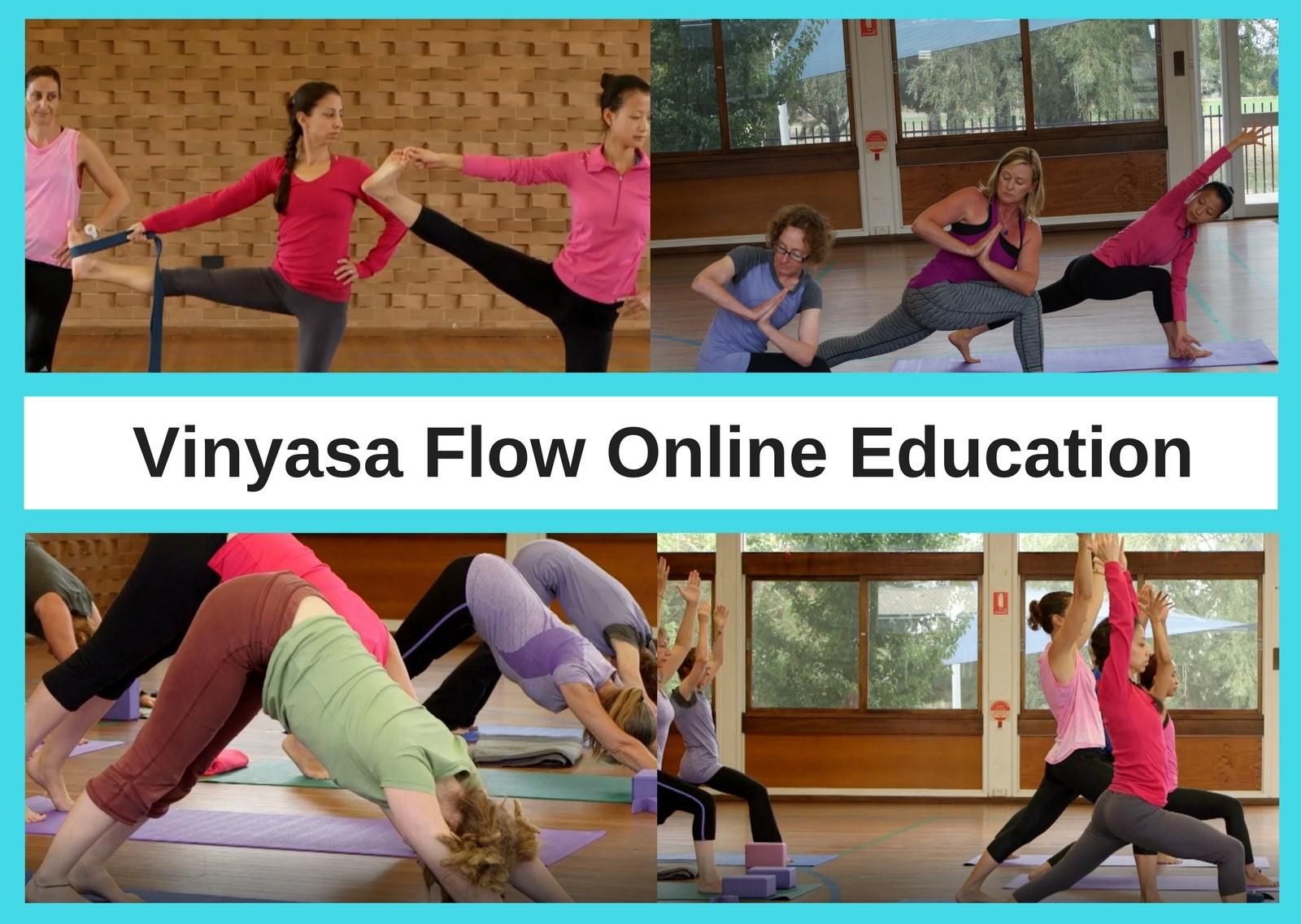 Vinyasa Flow Distance Education Course – Online Education Package